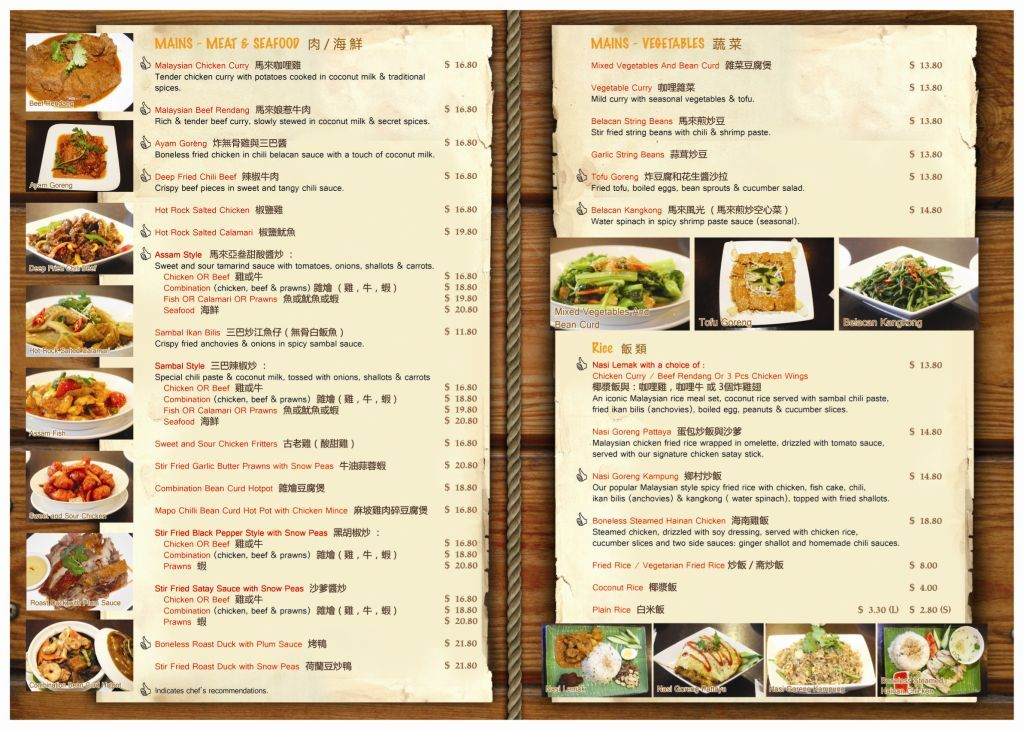 Pics Photos - Menu